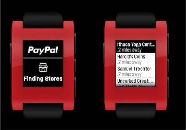 Pebble owners can now use PayPal on their smartwatch