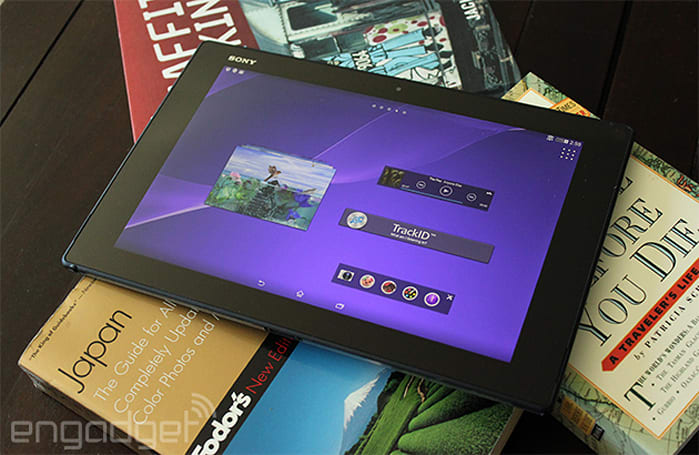 Sony's waterproof Xperia Z2 Tablet coming to Verizon for $600