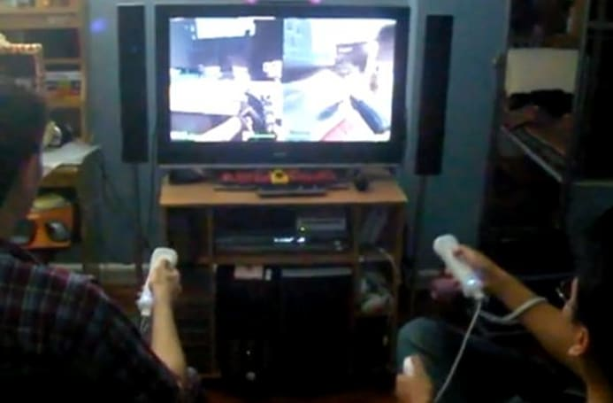 Left 4 Dead PC Wiimote hack for the gamer who has it all, hates zombies