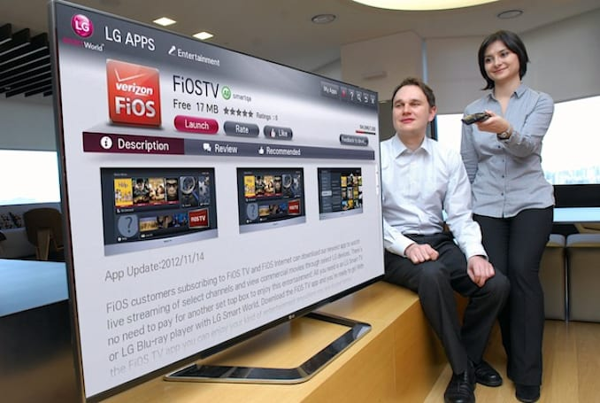 Verizon FiOS brings its live TV streaming app to LG Smart TVs