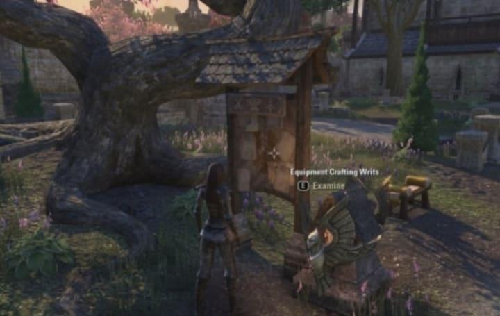 Elder Scrolls Online walks you through crafting writs