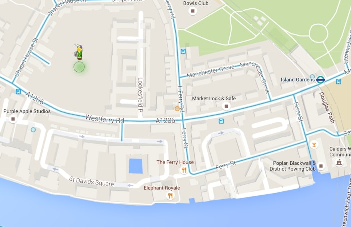 Explore Google Maps with Link from 'The Legend of Zelda'