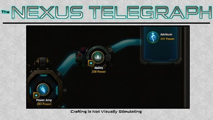 The Nexus Telegraph: A speculative look at WildStar crafting