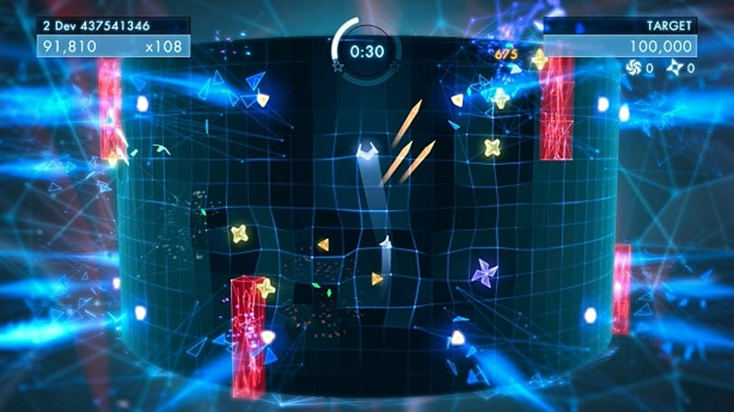 Globe-trotting with Geometry Wars 3: Dimensions