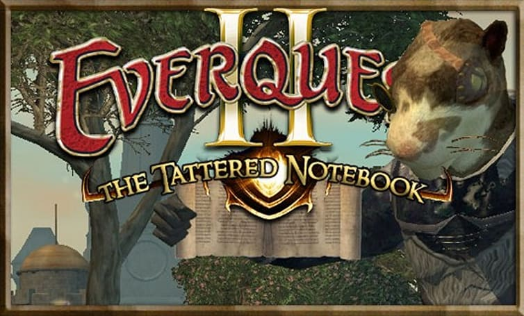 The Tattered Notebook: Why I came back to EverQuest II