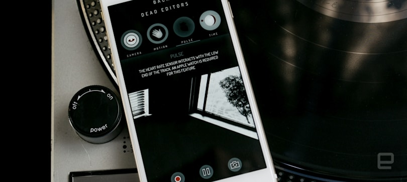 Remix Massive Attack's new songs with a sensor-aware iPhone app
