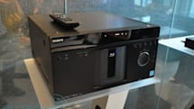 Sony's new MegaChanger and ES Blu-ray players in the flesh