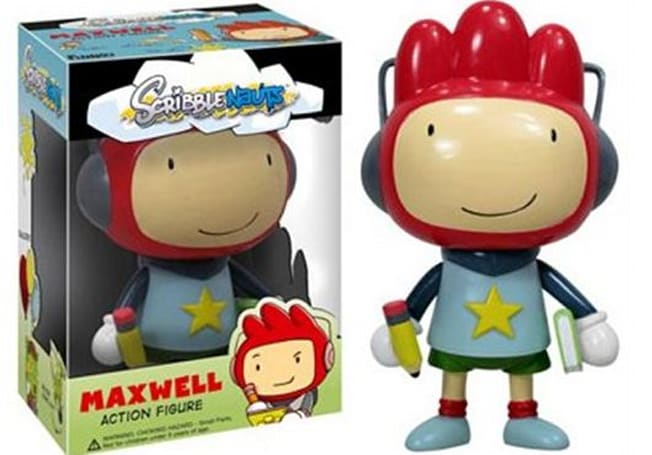 Scribblenauts' Maxwell now available for pre-order in toy form