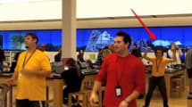 Microsoft Store employees perform dance of the cringe (video)