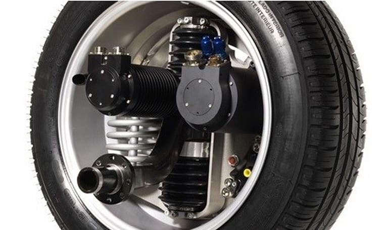 Michelin's e-wheel eliminates gearboxes, drive shaft, and really boss rims