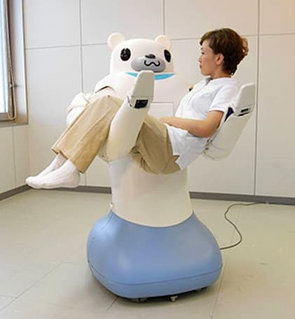 Video: Human-carrying robot bear gets cuteness upgrade