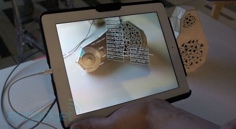 Eyes-on: MIT Media Lab's Smarter Objects can map a user interface onto... anything (video)