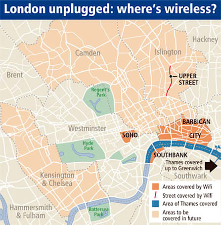 London to become Europe's largest WiFi hotspot