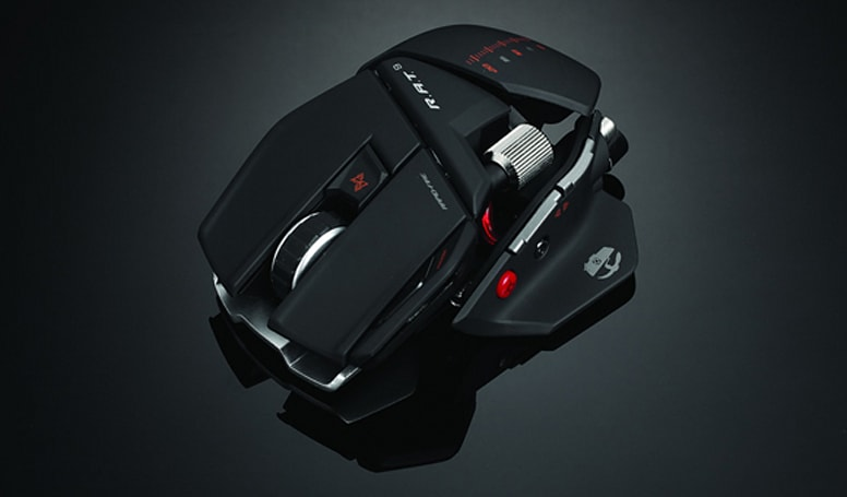 Mad Catz unveils three new 'Cyborg' gaming mice, coming 'Spring 2010'