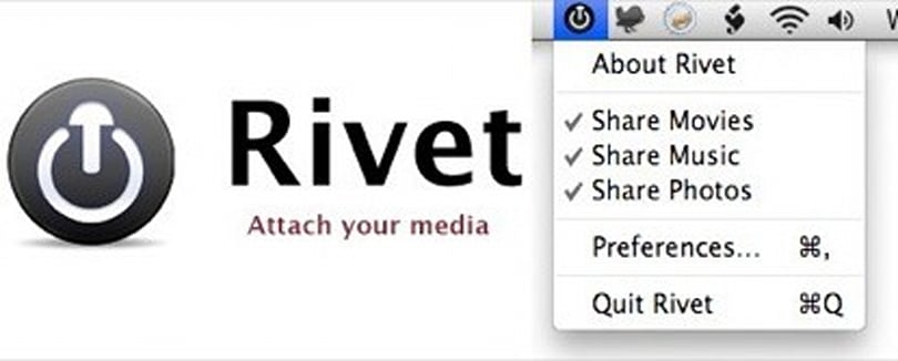 Rivet, new 360 media sharing for Mac
