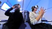 動画:池袋からファーストクラスでNYへ、VRで海外旅行体験するFirst Airlines。出演:せきぐちあいみ