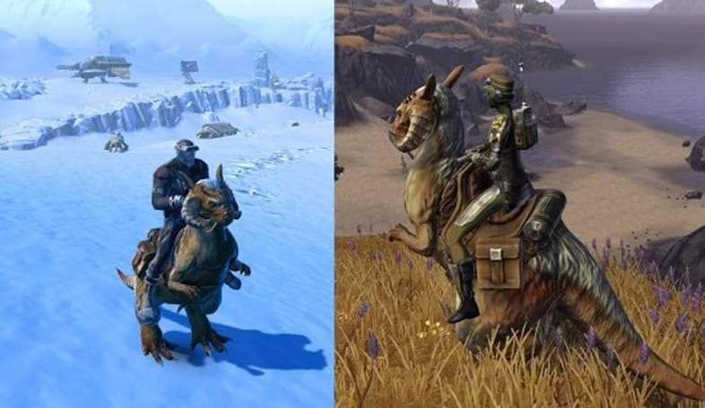 Tauntaun mounts are migrating to SWTOR