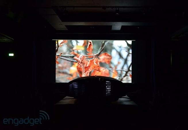 This is what native 4K home cinema looks like on Sony's VPL-VW1000ES projector