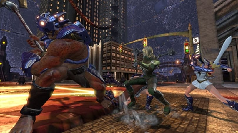 Take a tour of DCUO's Amazon Fury raid with the devs