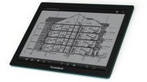 E Ink が薄型軽量の電子ペーパー Fina 発表、13.3型のCAD図面リーダーに採用