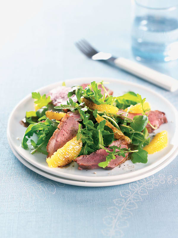 Duck Breast Salad with Orange recipe