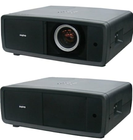 Sanyo PLV-Z4000 3LCD projector gets more colorful, cheaper