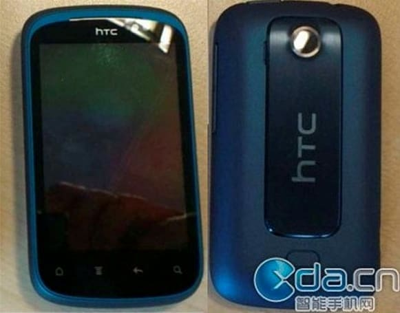 HTC Pico gets pictured, looks like a Wildfire S with a case of the blues