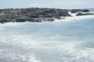 Olympus E-P3 Sample 720p Video - Black Sand Beach Near Kona, Hawaii