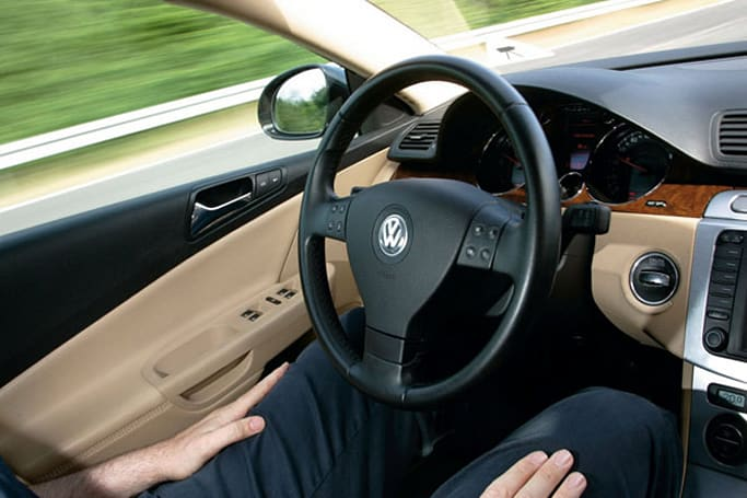 Volkswagen Temporary Auto Pilot brings hands-free driving to the highway