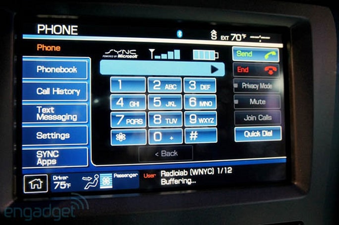 Ford says Sync is now in 4 million vehicles, takes a moment to talk up Focus Electric