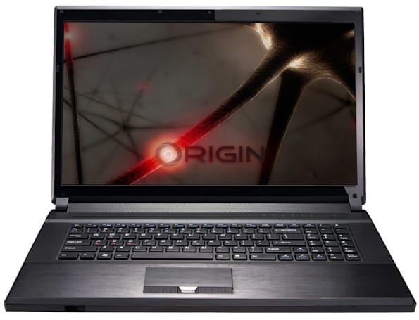 Origin EON17-S gaming laptop overclocked to 4.5GHz, up for order