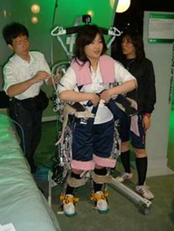 2nd Stand-Alone Power Assist Suit aids in patient lifting