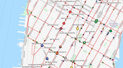 Follow the world's mass transit on this live map