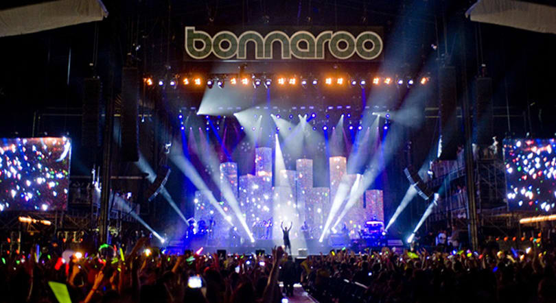 With Xbox, you can enjoy Bonnaroo from your couch