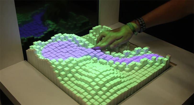 Shape-shifting interface lets you touch computer simulations