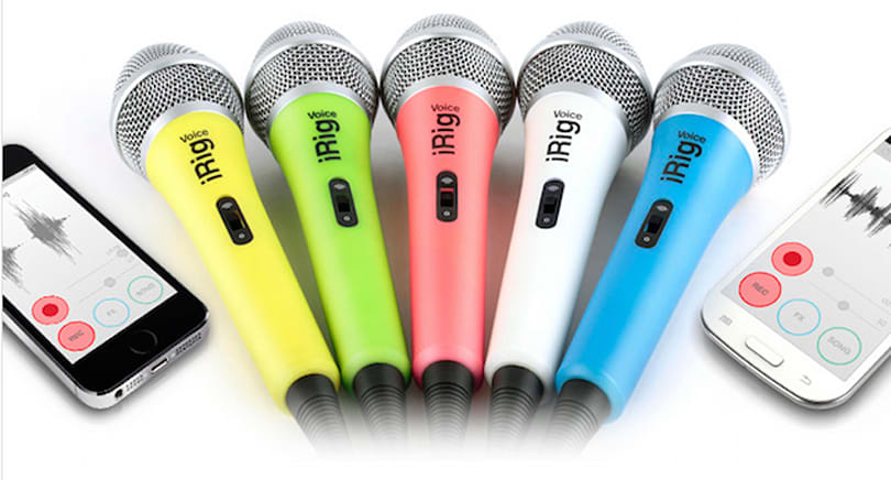 iRig Voice and EZ Voice app want to make you a star