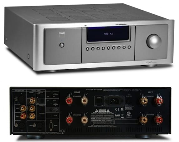 NAD jumps into Class D with its new M2 Direct Digital Amp