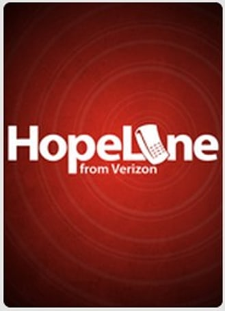 Verizon's HopeLine app for Android provides resources and support for victims of domestic violence