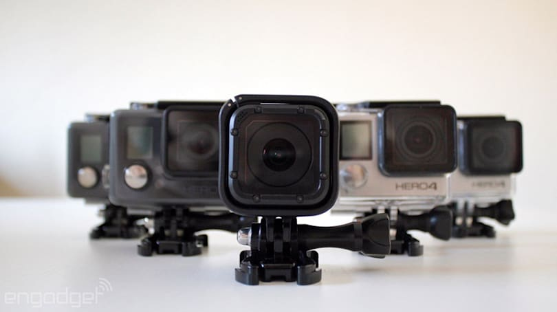 GoPro is axing budget Hero line, confirms 'connected' Hero5