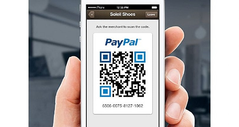 PayPal's Payment Code lets you purchase with QR codes