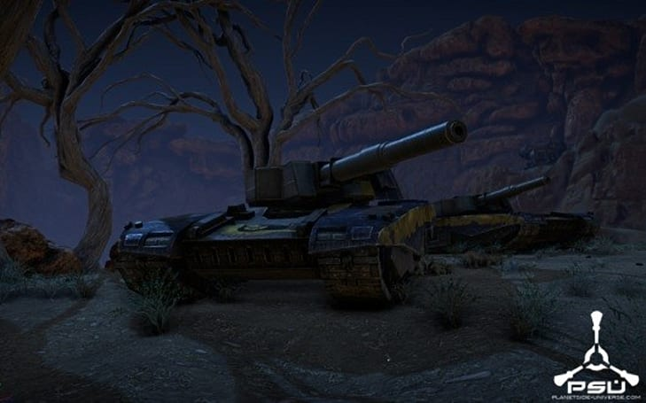 PlanetSide 2 community night reveals vehicle customization, Vanguard tanks, and in-game footage