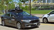 Uber shows off its first self-driving car