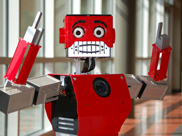 """Reddy the """"emotional"""" humanoid robot"""