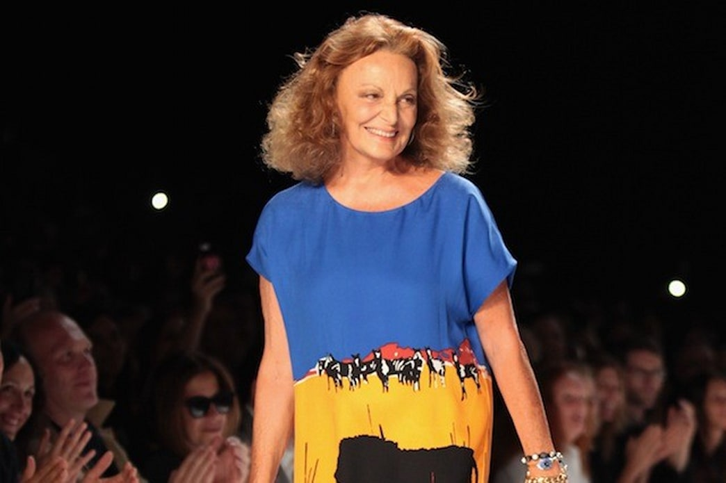 Diane von Furstenberg to launch a reality show in search of an 'Elite Brand Ambassador'