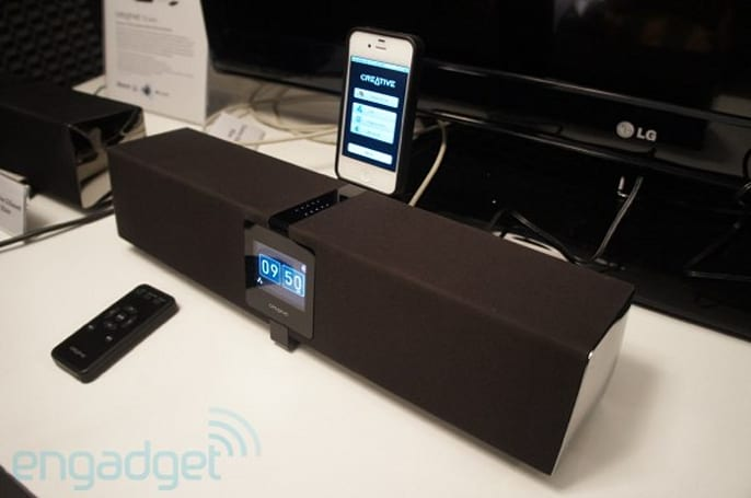 Creative D5 Air Airplay speaker hits IFA, readies itself for a late-September release