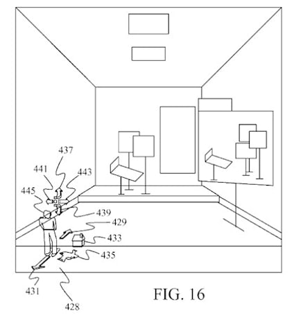 Microsoft patent details a 3D desktop interface with a room for your windows