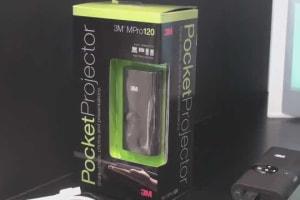 3M Mpro120 Pocket Projector Hands-on
