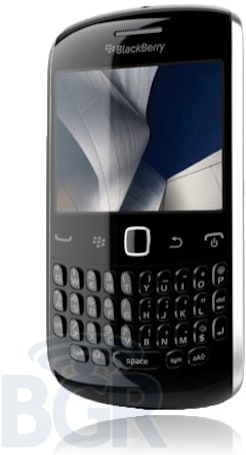 BlackBerry Curve 'Apollo' leak provides image, details, no relationship status