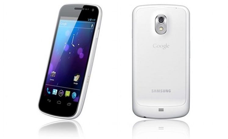 White Galaxy Nexus to strut its stuff in UK on February 6th