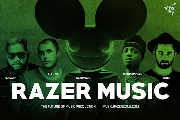 Razer Music is a content sharing and creation portal for musicians